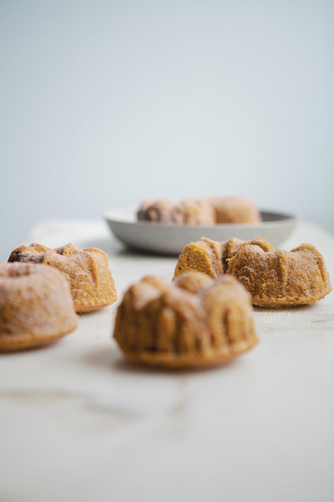Pumpkin Brown Butter Cakes   Cannelle Vanille - 10 Sweet Pumpkin Recipes