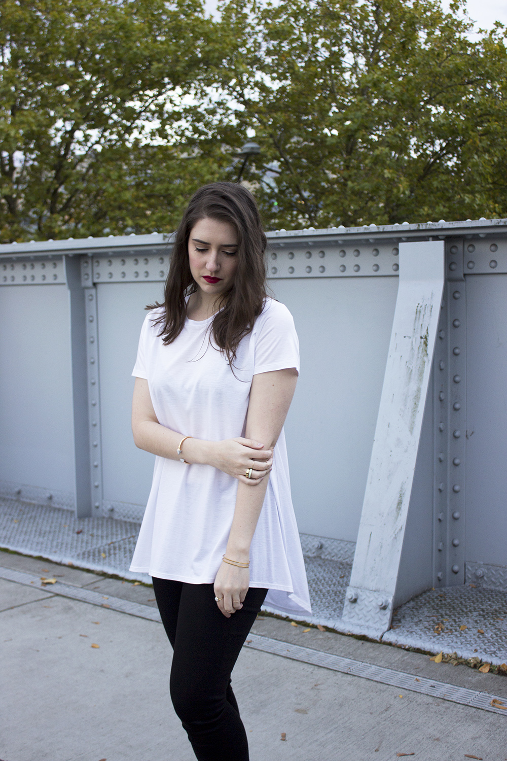 Buki The Long Weekend Tee Date Night Outfit on Style and Cheek