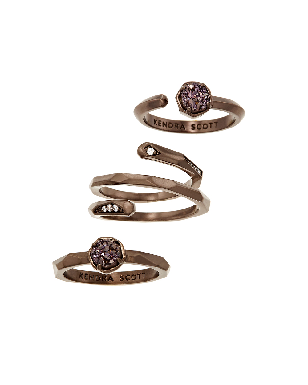 Kendra Scott Warren Ring Set In Chocolate Drusy - Kendra Scott Jewelry Wishlist