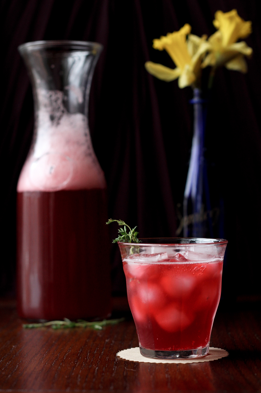Blackberry, Lemon, & Thyme Soda | Reclaiming Provincial - Pinterest Picks - 8 Tasty Holiday Mocktails