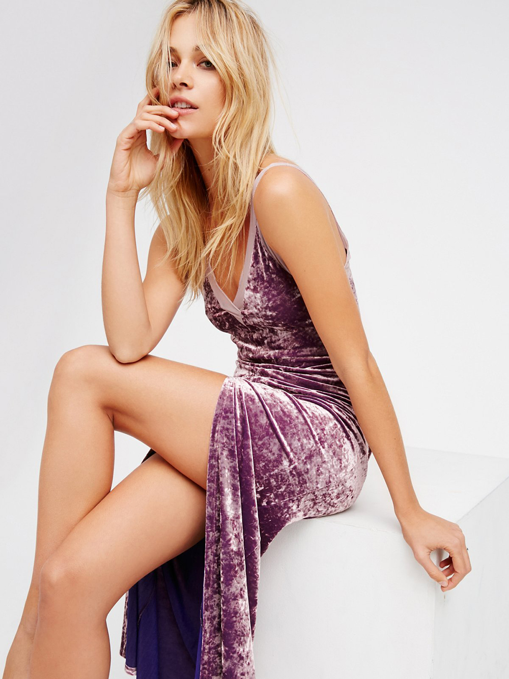 Free People Belle Epoch Velvet Maxi Slip - Unwrap These 10 Holiday Dresses