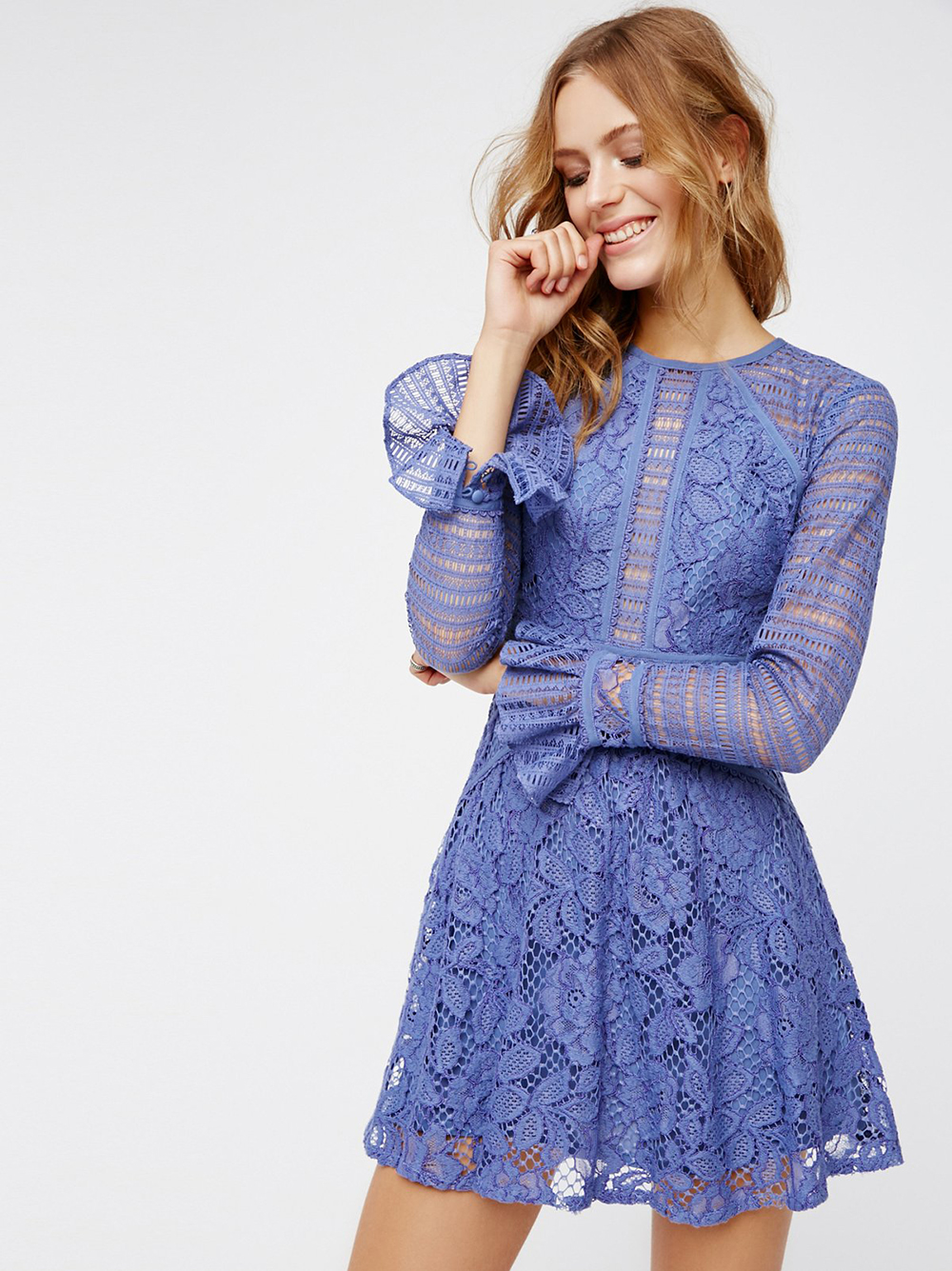 Free People Kiss And Tell Lace Mini - Unwrap These 10 Holiday Dresses