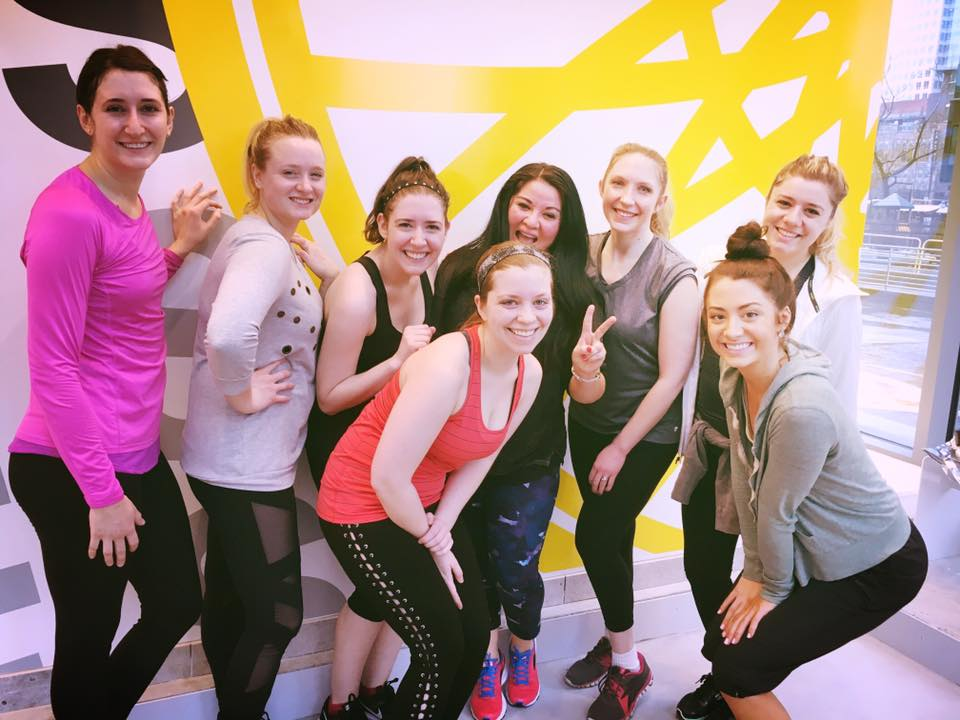 SoulCycle BLVU with Seattle friends and influencers - Ride till You're High at SoulCycle BLVU | Style and Cheek