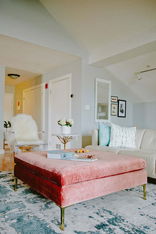 You'll Never Guess What this Chic Loft was Before It Was Renovated | Style Me Pretty Living - Rose inspiration