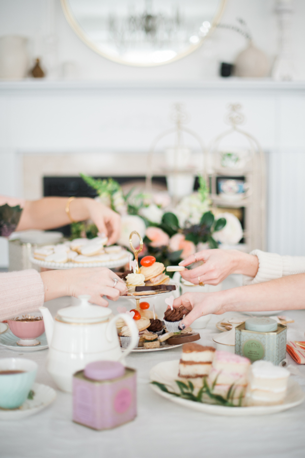 A Tea Time Galentine's Day Party | Style Me Pretty - Pinterest Picks - Galentine's Day Ideas