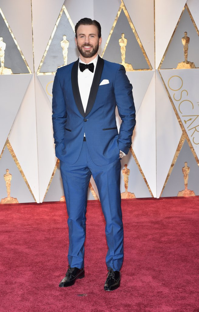 Chris Evans Oscar 2017 Red Carpet Arrival Getty Images - Best of The Oscars 2017