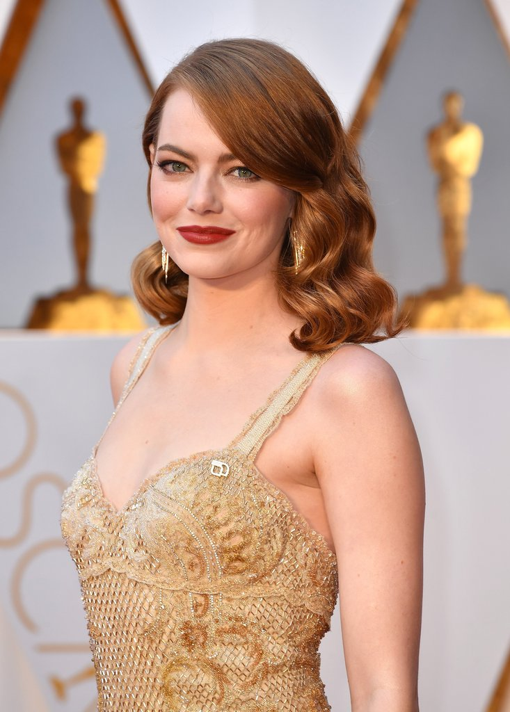 Emma Stone Oscar 2017 Red Carpet Arrival FilmMagic - Best of The Oscars 2017
