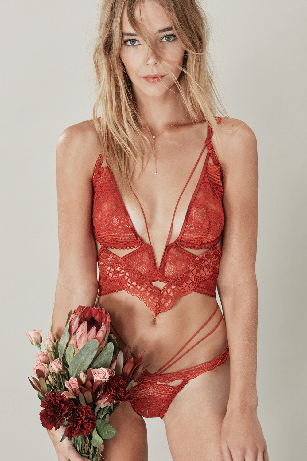 For Love and Lemons Etienne Lace Bralette | Valentine's Day Gift Guide