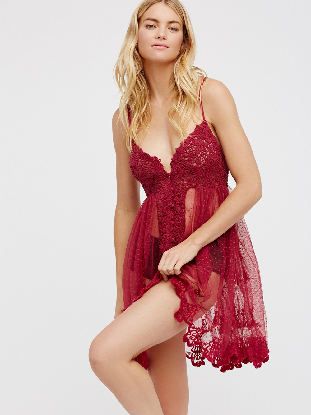Free People Say Hello to Heaven Slip | Valentine's Day Gift Guide