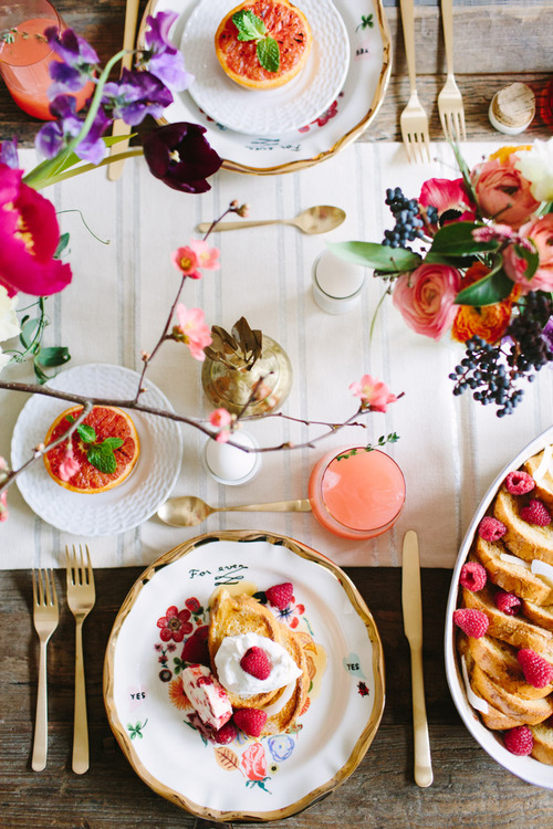 Girlfriends Valentine's Day Brunch | Anthropologie - Pinterest Picks - Galentine's Day Ideas