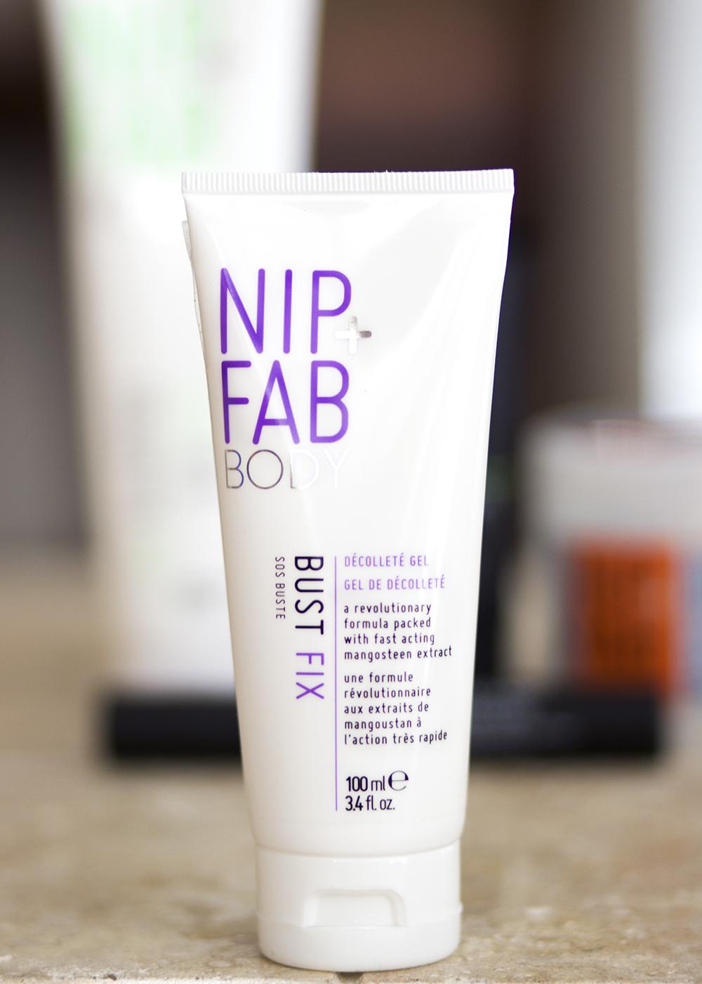 Rodial and Nip + Fab Beauty - Nip + Fab Body Bust Fix Décolleté Gel - Rodial Nip Fab Beauty Review