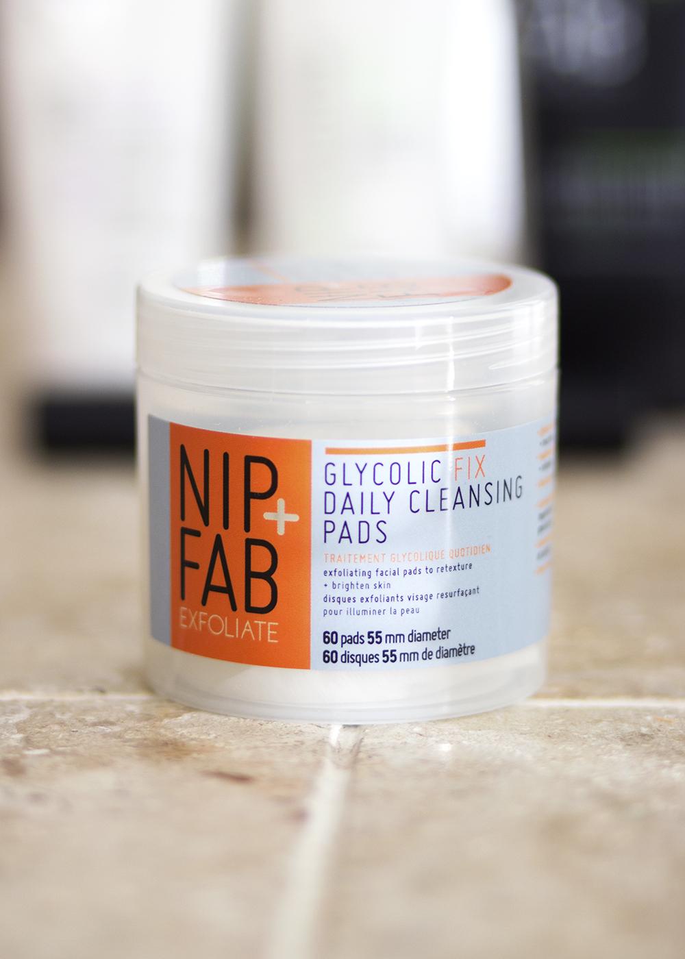 Rodial and Nip + Fab Beauty - Nip + Fab Exfoliate Glycolic Fix Daily Cleansing Pads - Rodial Nip Fab Beauty Review