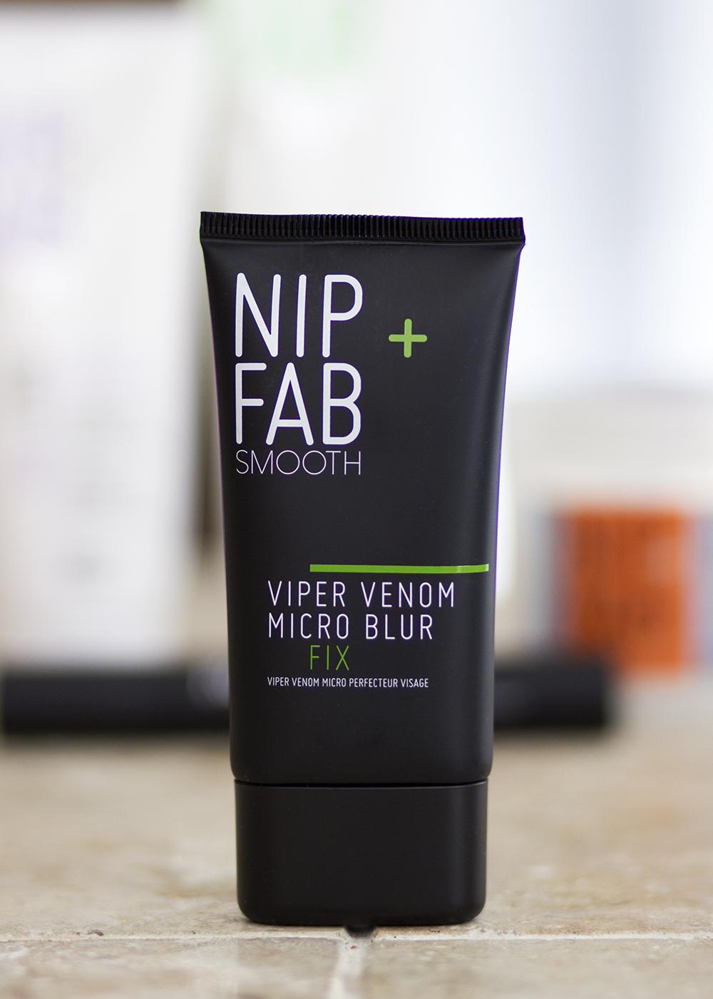 Rodial and Nip + Fab Beauty - Nip + Fab Smooth Viper Venom Micro Blur Fix - Rodial Nip Fab Beauty Review