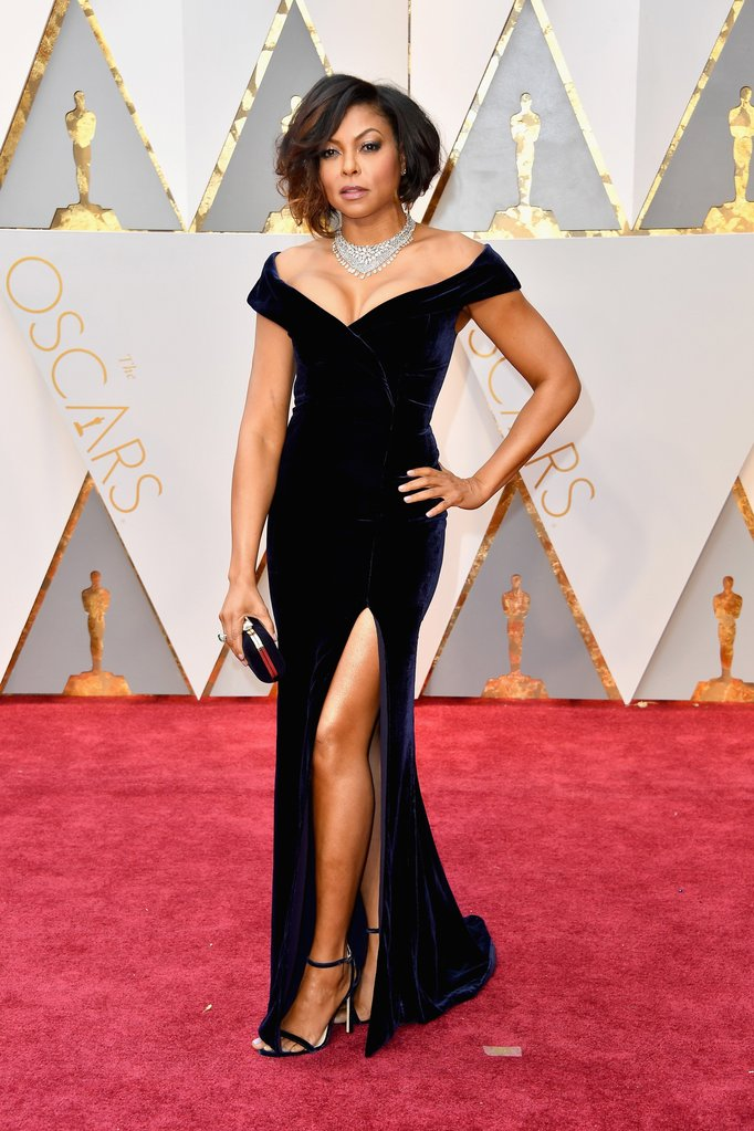 Taraji P. Henson Oscar 2017 Dress WireImage - Best of The Oscars 2017