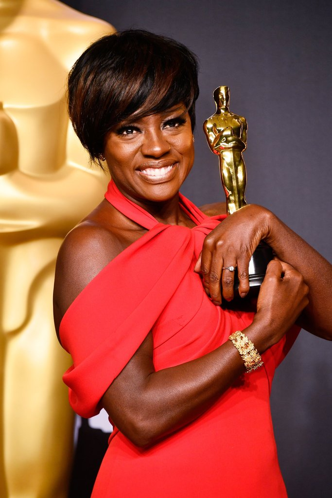 "Viola Davis, Oscar 2017 winner for Actress in a Supporting Role for ""Fences"" Getty Images - Best of The Oscars 2017"
