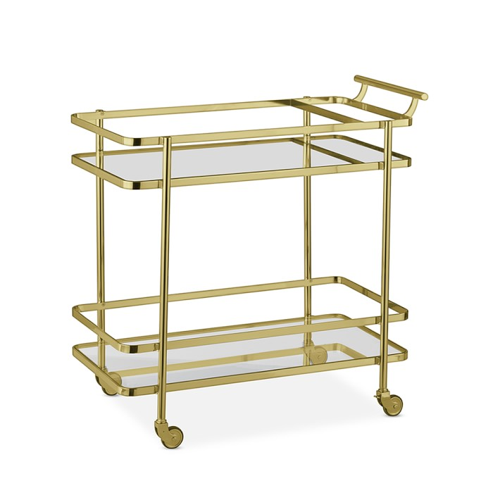 Williams Sonoma Truman Bar Cart - 10 Perfect Bar Carts for Entertaining