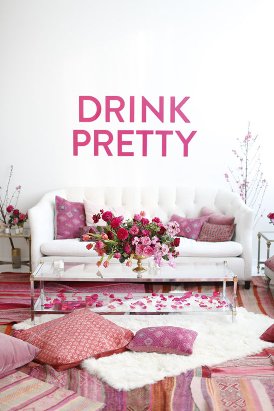 Women & Whiskies Party! | Design Love Fest - Pinterest Picks - Galentine's Day Ideas