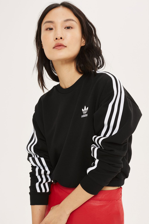3 Stripe Cropped Sweatshirt by Adidas Originals - Wardrobe Refresh: Topshop for Spring