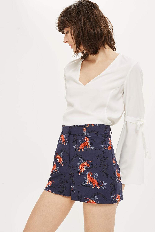 Topshop Tiger Print Shorts - Wardrobe Refresh: Topshop for Spring