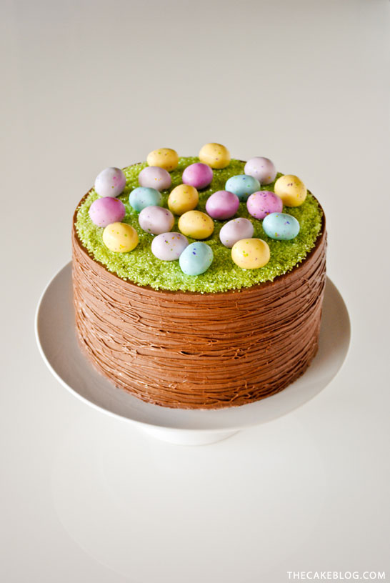 Easter Basket Cake | The Cake Blog - Pinterest Picks - 10 Delightful Easter Desserts