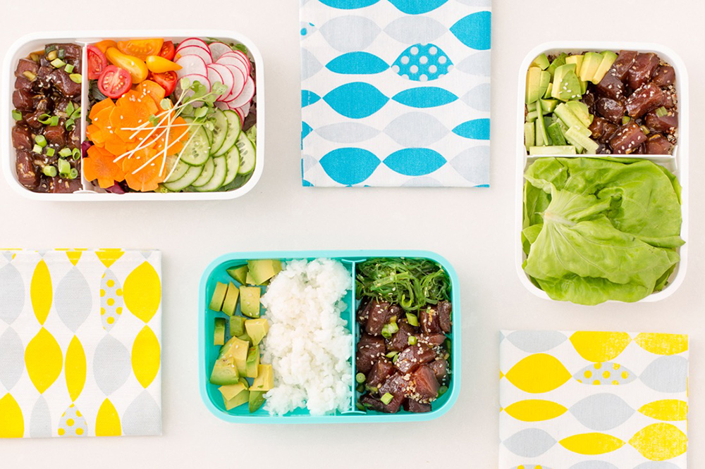 These 3 Poke Bowl Bento Boxes Just Made Lunchtime the Best Time | Brit+Co - Poke Recipes
