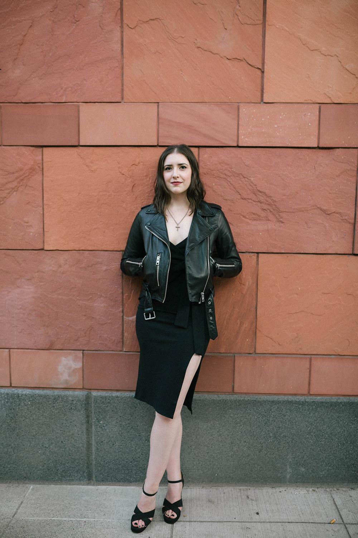 Boohoo Midi Dress - photo by Lauren Wilks Photography - Boohoo midi dress