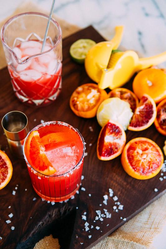Ginger Blood Orange Margaritas | A House In The Hills - Pinterest Picks - Cinco de Mayo Ready Margarita Recipes