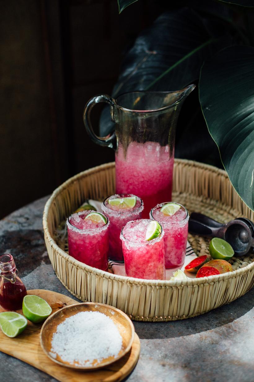 Prickly Pear Margaritas | Camille Styles - Pinterest Picks - Cinco de Mayo Ready Margarita Recipes