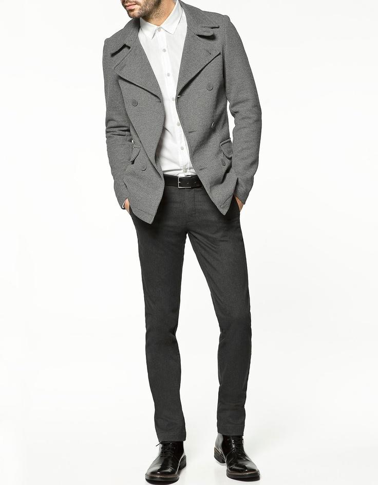 Zara mens black velvet jacket