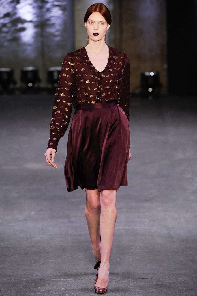 Christian Siriano Fall Ready-to-Wear Look 19 | Fall Trends 2012