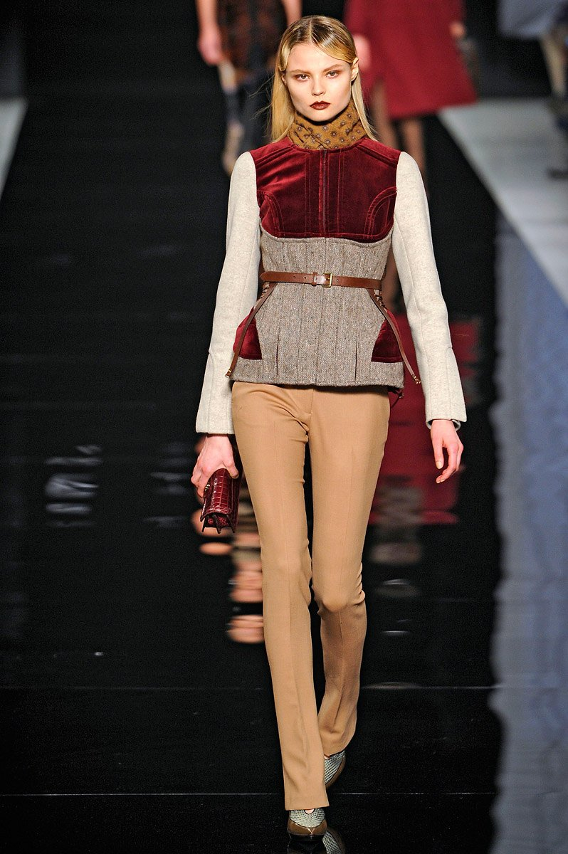 Vogue's Guide to Fall 2012 Fashion Equestrian Elegance Etro Milan | Fall Trends 2012