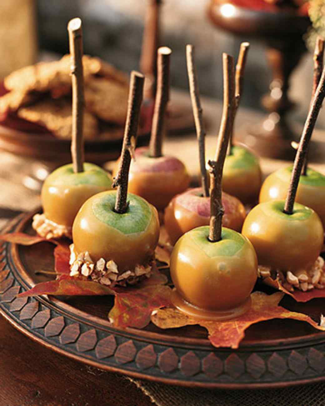 Caramel Lady Apples from Martha Stewart | 31 Things for Halloween