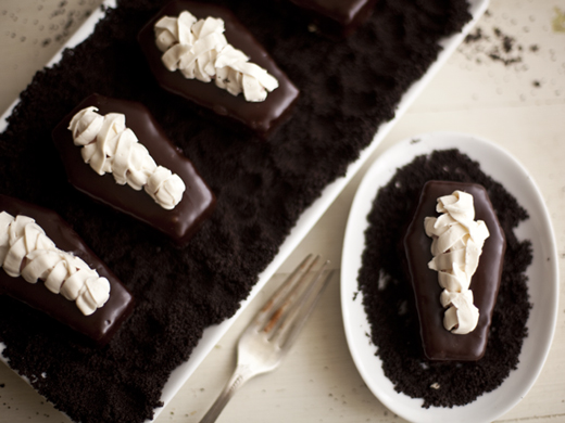 Mummy Cakes Zoe Bakes | 31 things for Halloween