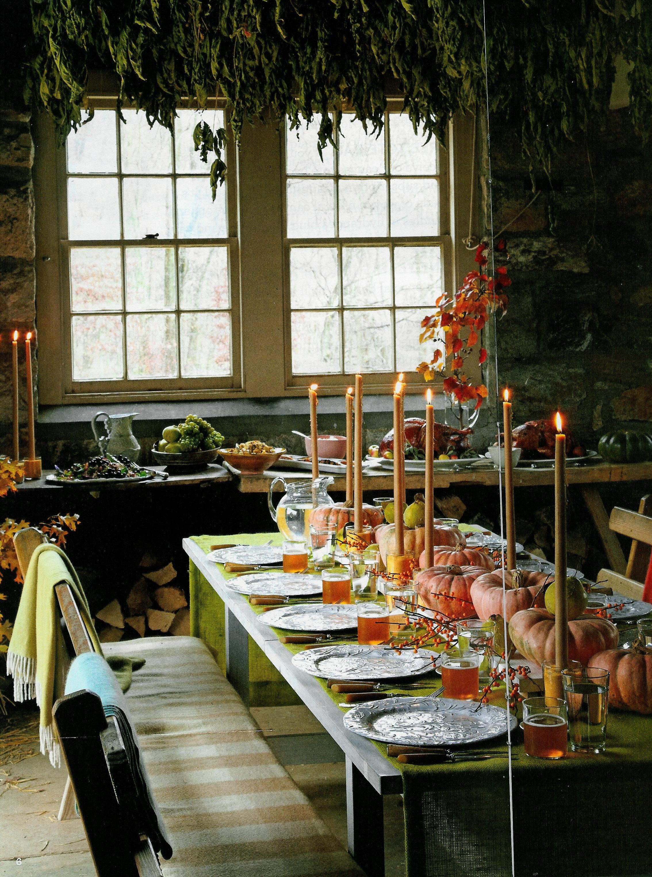 Pinterest picks thanksgiving table settings - Thanksgiving dinner table decorations ...