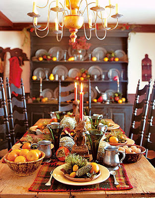 Harvest Table | Country Living | thanksgiving table settings