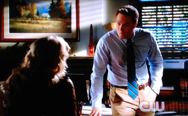 "George Tucker's ""I don't know about this"" face 
