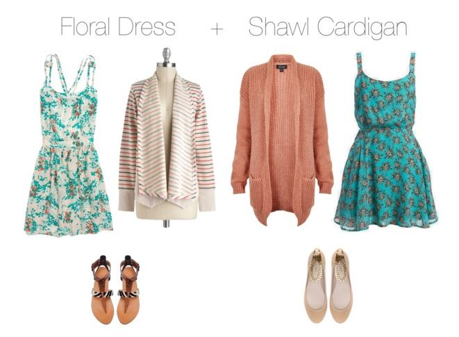 How She'd Wear It - Florals and cardigans | Floral Prints