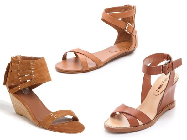 brown, leather sandals | Spring Sandals