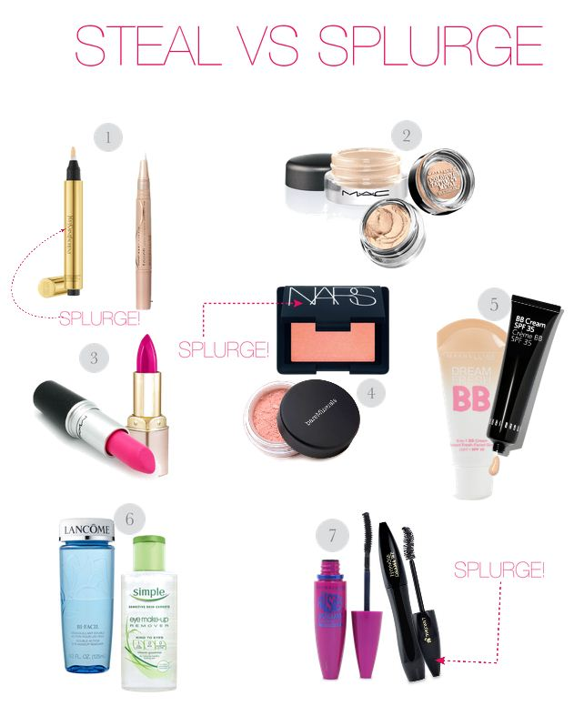 9bad2939b19 The Makeup Lady – Steal vs. Splurge