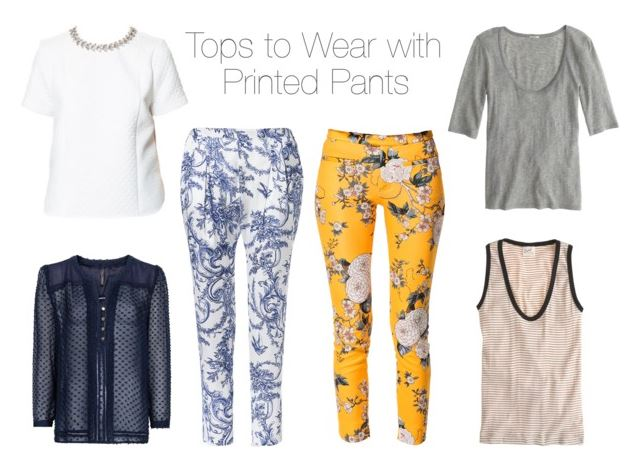 How She'd Wear It - Printed Pants