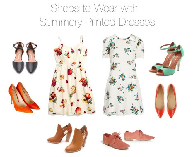 How She'd Wear It - Summery Printed Dresses