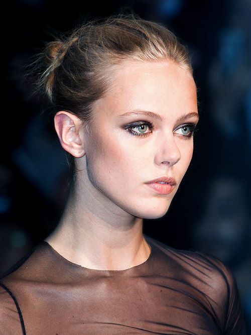 Frida Gustavsson at Alexandre Vauthier Haute Couture Fall/Winter 2013