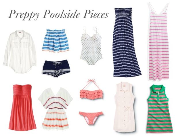 How She'd Wear It - Preppy cover-ups