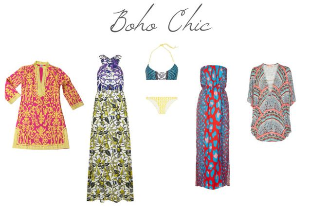 How She'd Wear It - boho cover ups