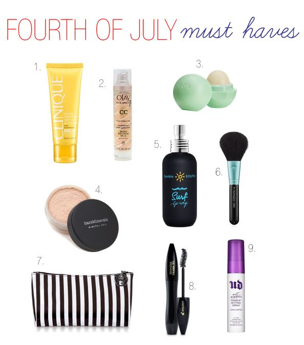 fourth of july must haves