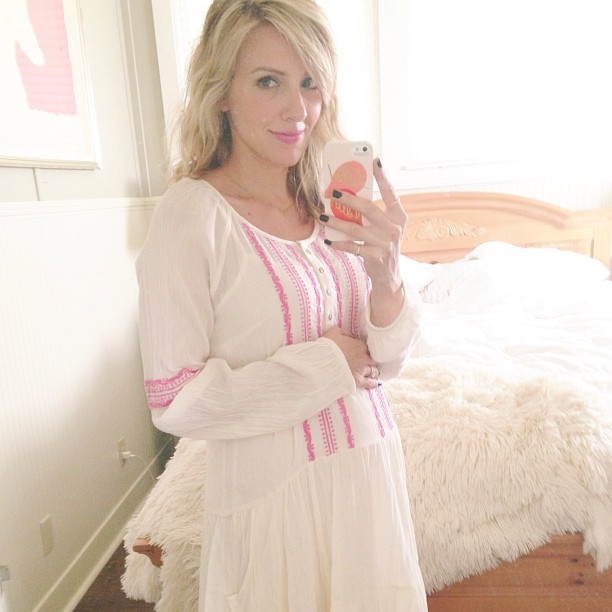 Taylor Sterling's maternity style