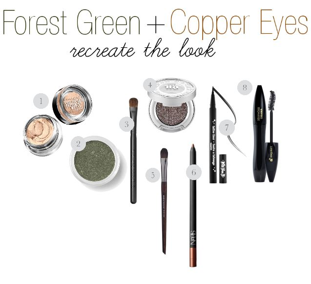 Forest Green and Copper Eyes