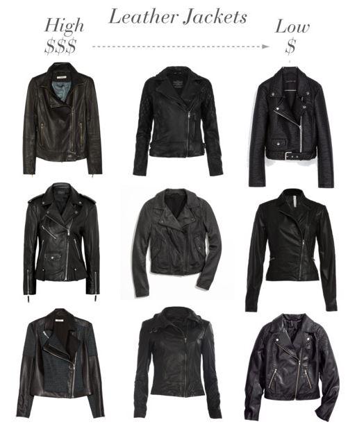 How She'd Wear It - leather jackets