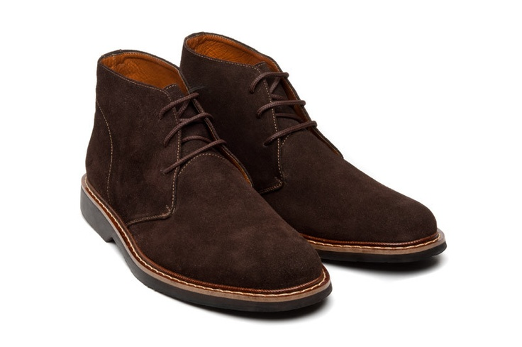 Beckett Simonon Bailey Chukka Boot Brown Suede | Versatile Work Shoes for Men