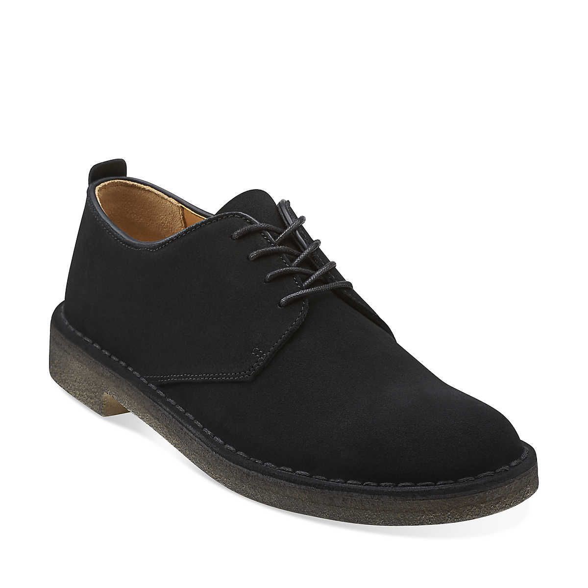 Clarks Desert London in Black Suede | Versatile Work Shoes for Men